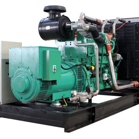 250kw 312.5KVA cummins natural gas genertor set