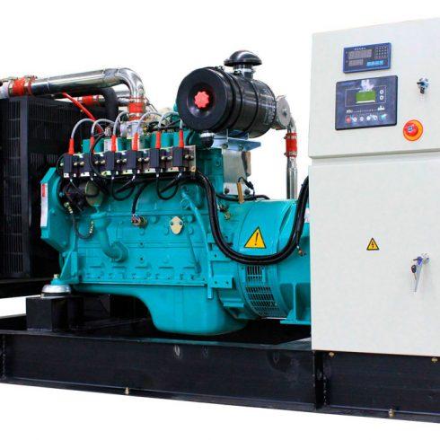 100kw 125kva cummin gas generator with original stamford alternator