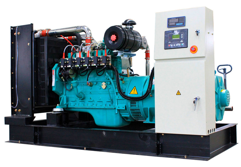 100kw 125kva cummin gas generator with original stamford alternator