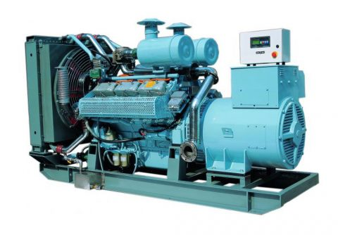 100kw 125kva cummins biogas engine generator set