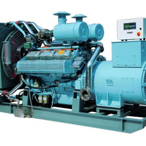 100kw 125kva cummins biogas engine generator set