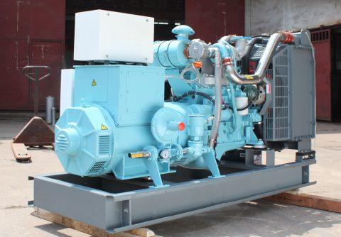 104kw 130kva cummins LPG generator set