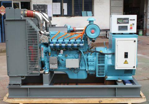 120kw 150kva cummins LPG generator set