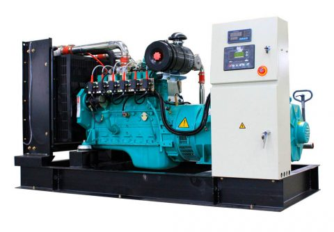 120kw 150kva cummins wood gas generator set