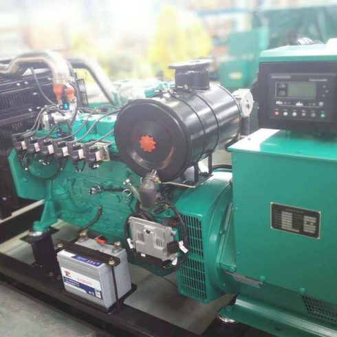 120kw 150kva cummins natural gas generator set