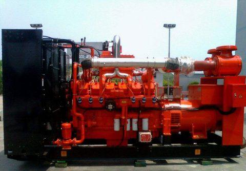 128kw 160kva cummins biogas generator set