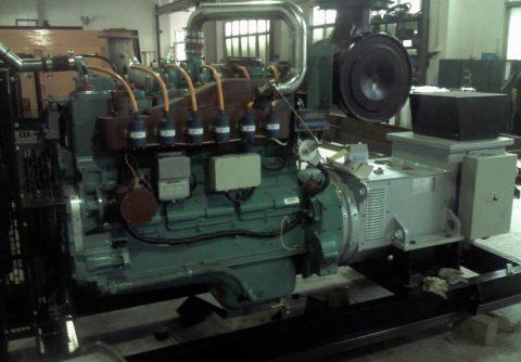 150kw 187.5kva cummins LPG generator set