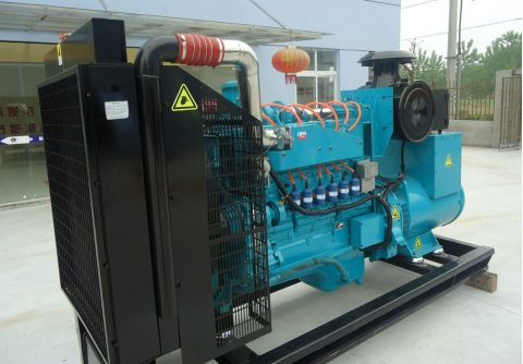 150kw 187.5kva cummins wood gas generator set
