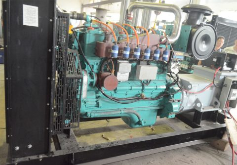 160kw 200kva Cummins Natural Gas Powered Generator Set