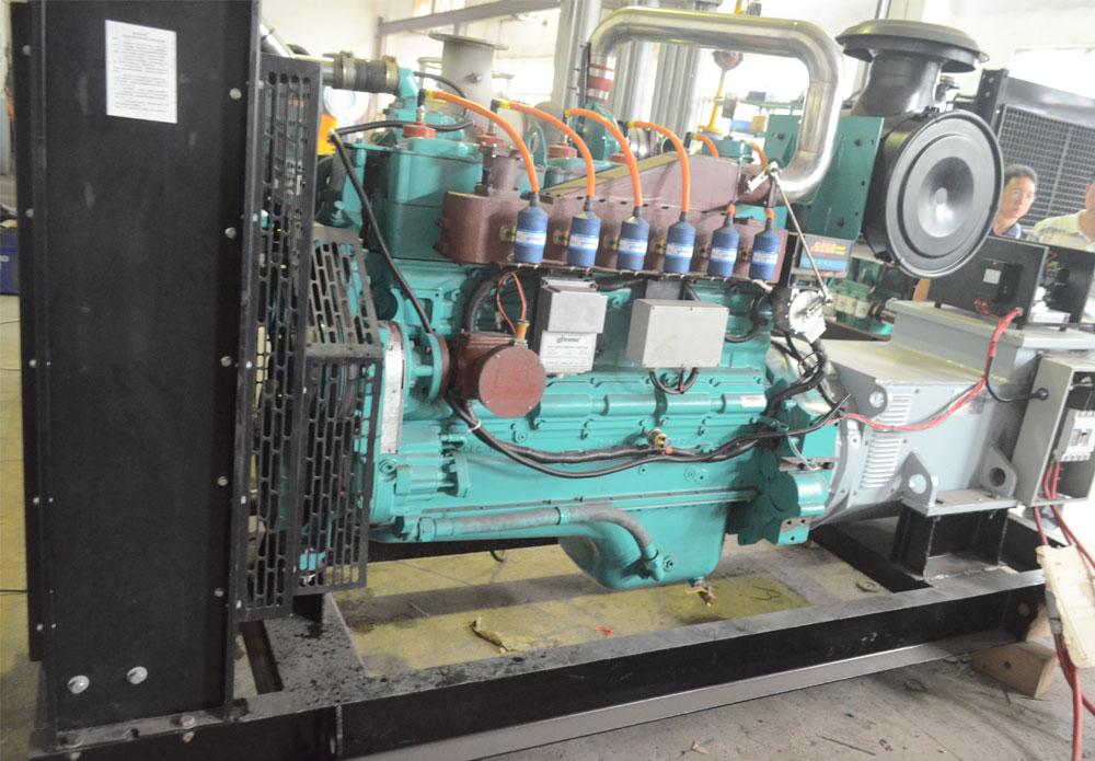 160kw 200kva Cummins Natural Gas Powered Generator Set