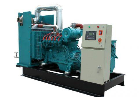 160kw 200kva cummins biogas generator set