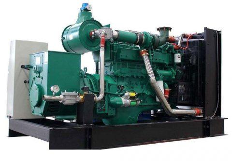 200kw 250kva cummins LPG generator set