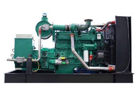 200kw 250kva cummins biogas generator set