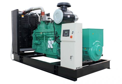 200kw 250kva cummins wood gas generator set