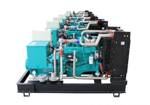 20kw 25kva cummins LPG generator set