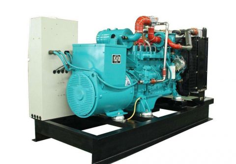 20kw 25kva cummins wood gas generator set