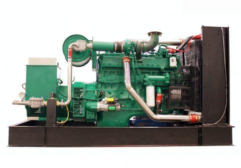250kw 312.5kva cummins biogas generator set