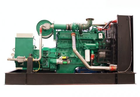 300kw 375kva cummins wood gas generator set