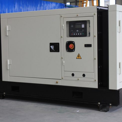 32kw 40kva cummins biogas generator set with soundproof canopy