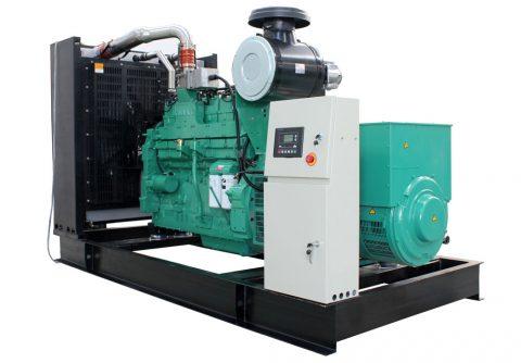 360kw 450kva cummins biogas generator set
