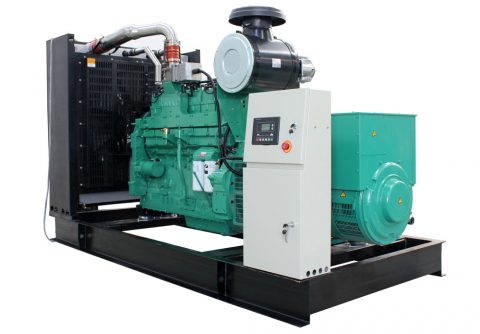 400kw 500kva cummins wood gas generator set