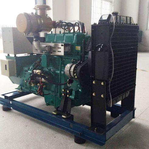 48kw 60kva cummins biogas generator set