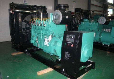 500kw 625kva cummins natural gas generator set