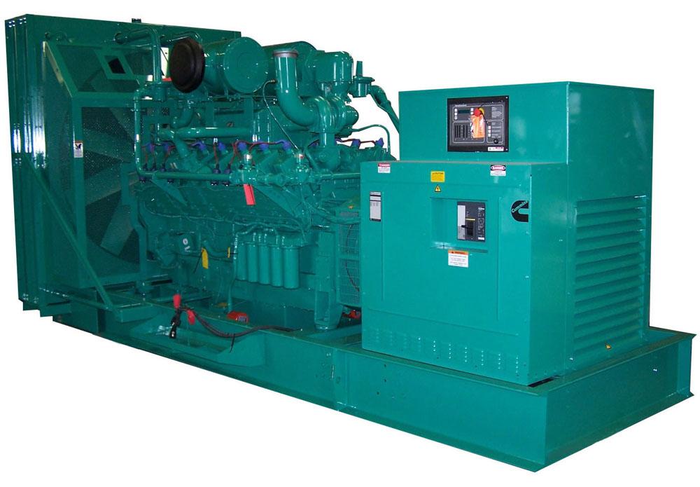 620kw 775kva Cummins Biogas Generator Set