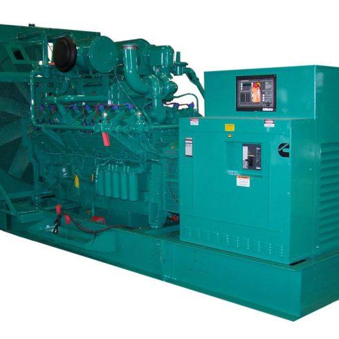 640kw 800kva cummins biogas electric generator