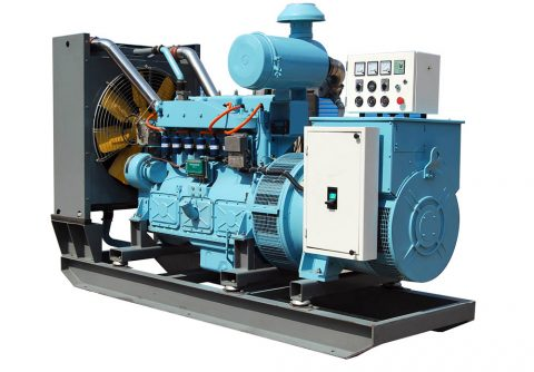 64kw 80kva electric start cummins syngas generator set