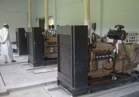 75kw 93.75kva cummins biogas generator set