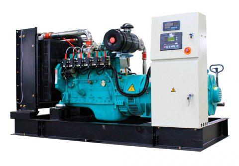 90kw 112.5kva cummins gasifier gas generator set