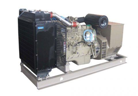 128kw 160kva dongfeng cummins emergency generator