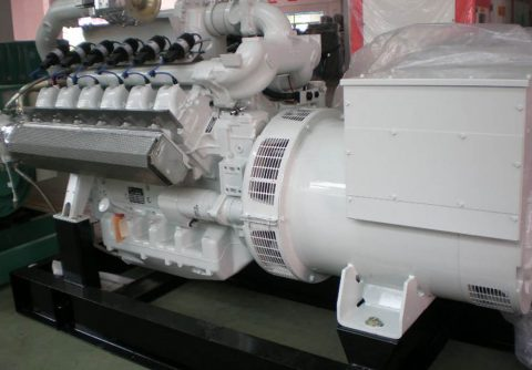 135kw MAN gas turbine generator set 50HZ 400V 8000 hours continuous