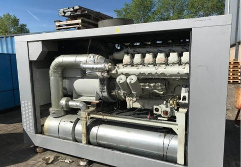 190kw 237.5kva MAN natural gas CNG LNG power genset for industrial applications