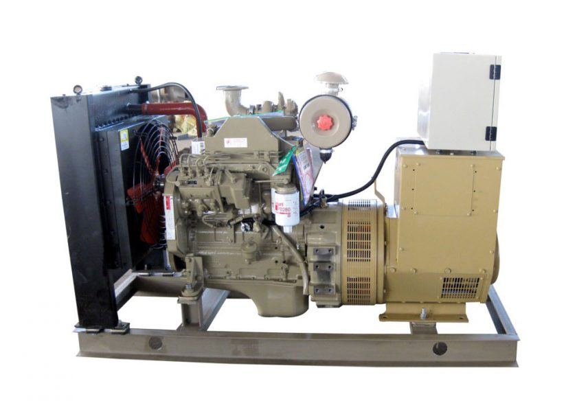22kw cummins diesel engine generator for power generation