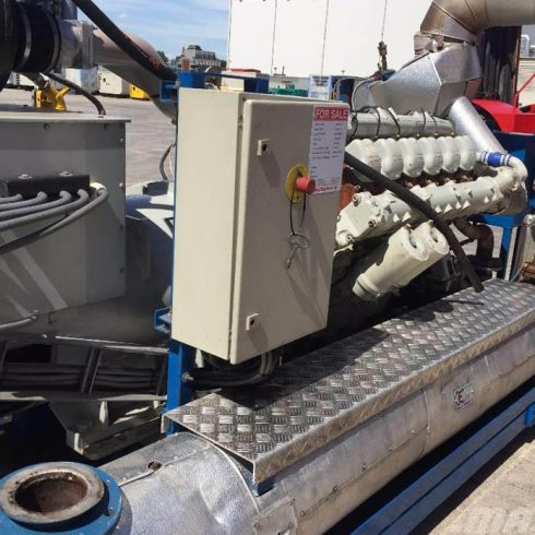 240kw 300kva MAN gas engine biogas electric generator from China