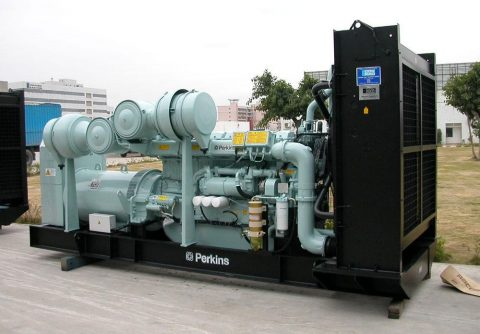 375kw Perkins natural gas generator with low fuel consumption and cost