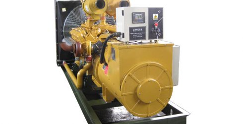 400 kw 500 kva SDEC diesel generator with electrical speed governor