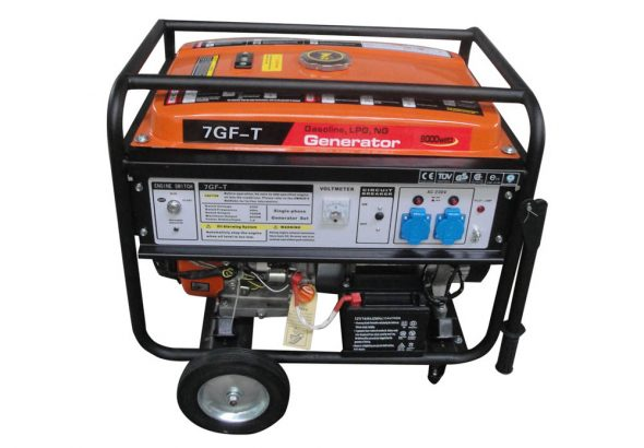 7kw backup LPG generator for home emergency power source