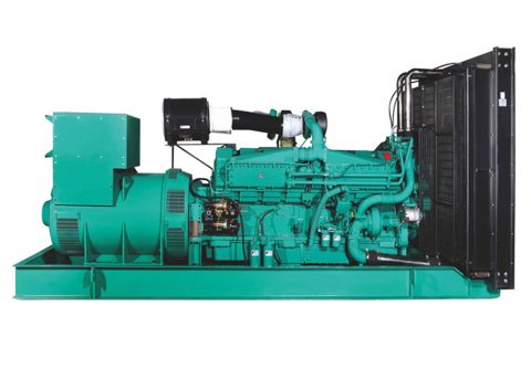 900kw cummins V12 engine industrial diesel generator