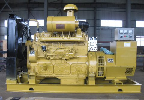 Shanghai diesel engine generator 80kw 100kva with good quality