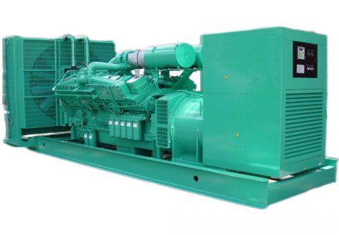 cummins 1000 kw 1250kva diesel generator for Nigeria