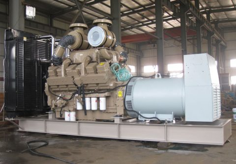 cummins 800 kw 1000kva diesel generator for Dubai