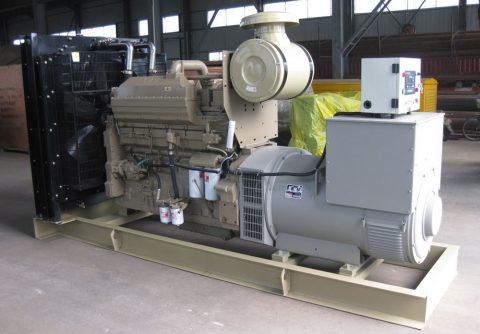 cummins genset 400kw 500 kva diesel generator