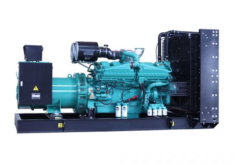 standby cummins 1500 kw 1875kva diesel generator for power generation