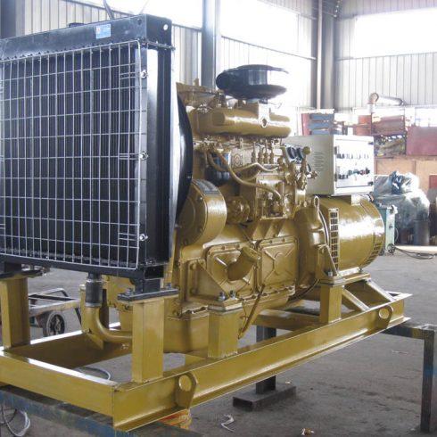 water cooling 4 cylinders SDEC 50kw 62.5kva diesel generator set