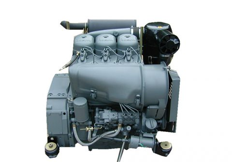 15 kw rated power 3 cylinders Deutz F3L912 diesel generator set