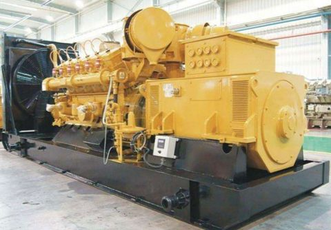 500kw 1000rpm medium speed JDEC natural gas generator set from China