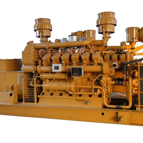 700kw natural gas generator set from Jinan Diesel Engine Corporation